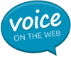 Voice on the Web Logo