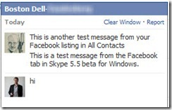 SkypeForWindows.5 5.ChatMsgInFBchat thumb Skype for Windows 5.5 beta: First Impressions with Facebook Integration