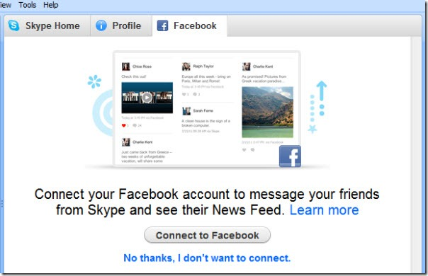 SkypeForWindows.5 5.FaceBookLogin thumb Skype for Windows 5.5 beta: First Impressions with Facebook Integration