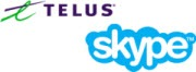 TELUS.Skype .logo .180px thumb Skype Gets TELUS Endorsement for Canadian Market
