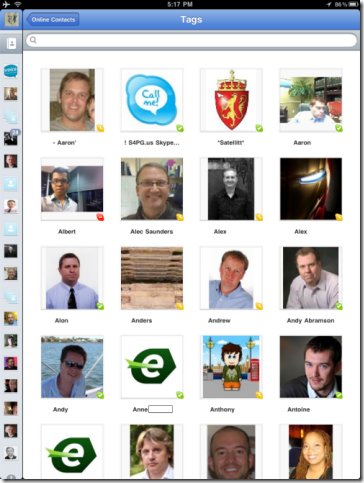 S4iPad.Contacts.Online thumb Skype for iPad: Yes, It's Now Real!