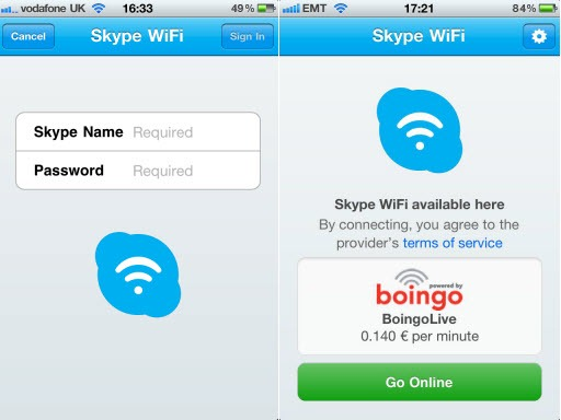 SkypeWiFi.Screenshots thumb Skype WiFi – Skype Access Rebranded; Now on iPhone, iPad