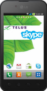 LGOptimusSkypeEdn.logos .150px Skype and TELUS: Carrier Supported Skype Now Available in Canada