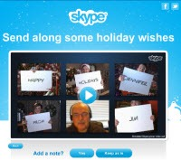 "SIWS.AddANote.200px thumb Experience Skype Revenue Features through Free Holiday ""Specials"""