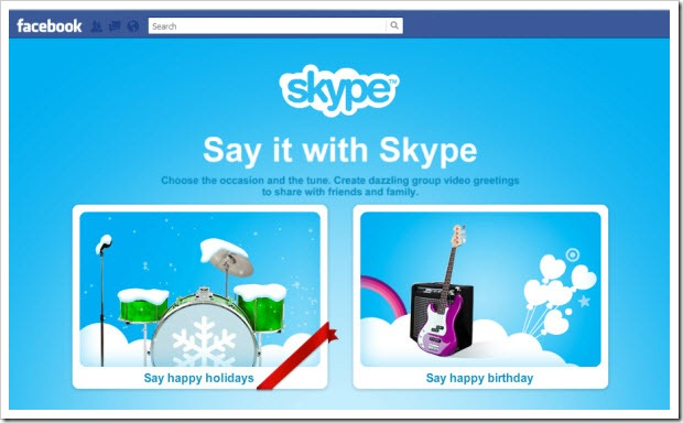 "SIWS.Opening thumb Experience Skype Revenue Features through Free Holiday ""Specials"""