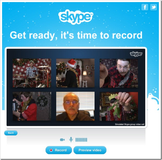 "SIWS.Record thumb Experience Skype Revenue Features through Free Holiday ""Specials"""
