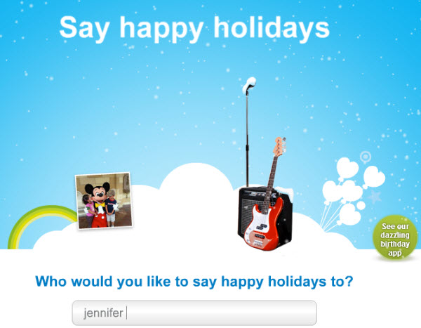 "SIWS.SelectAName Experience Skype Revenue Features through Free Holiday ""Specials"""