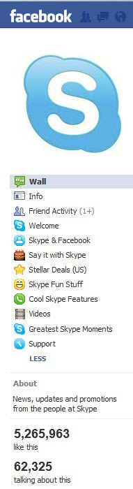 Skype.Facebook.MenuBar2 thumb Skype Goes to Facebook for User Engagement