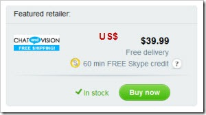 ChatVision.V1.US  Skype Shop Revamped: Transition to a Full E Commerce Site–The Purchase