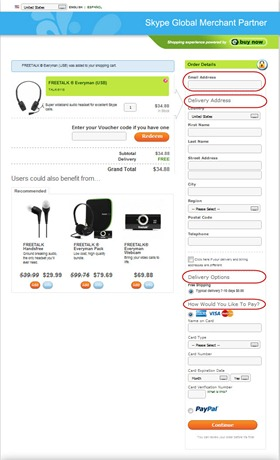 eBuyNow.OrderForm thumb Skype Shop Revamped: Transition to a Full E Commerce Site–The Purchase