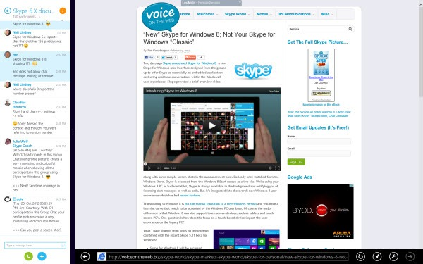 S4W8.Snap .skype .Browser thumb Skype for Windows 8: A New Skype Experience