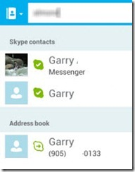 S4A3 0.ContactSources thumb Skype 3.0 for Android; Tablet Size UI