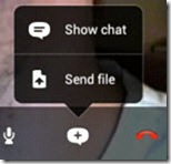 S4A3 0.PlusMenu thumb Skype 3.0 for Android; Tablet Size UI