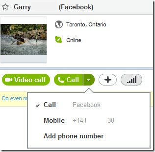 S4W.5 11.Garry .FacebookVersion thumb Skype 5.11 beta: Initial Steps to Microsoft Integration