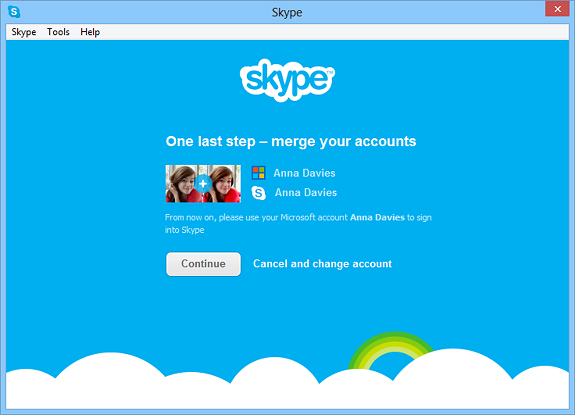 Skype.WLM.MergeAccounts