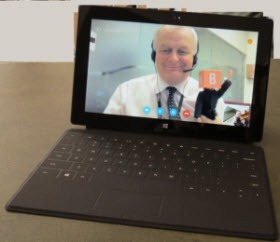 Surface.SkypeVIdeo.JB .07Nov12.280px thumb Skype for Windows 8: The Surface Experience