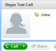SkypeTestCall Skype: Getting Started   The Software
