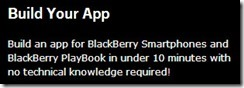 BB10.AppGenerator.Simple thumb Voice On The Web: Now a BlackBerry 10 & Playbook App