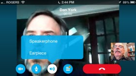 S4iPhone.4 6.DanYorkSpeaker thumb Skype for iPhone 4.6 – Revising the Calling Experience
