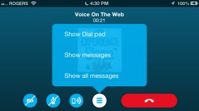 S4iPhone.4 6.VOTW .DialPad thumb Skype for iPhone 4.6 – Revising the Calling Experience
