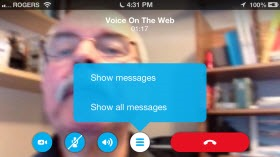 S4iPhone.4 6.VOTW .Messages thumb Skype for iPhone 4.6 – Revising the Calling Experience
