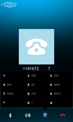 S4BB10.PSTN .DialPad Skype for BlackBerry 10.1: Feature Rich Mobile Conversations
