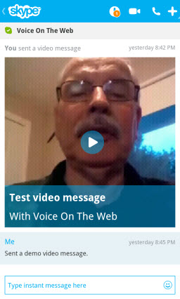 S4BB10.VideoMsg.CallLog Skype for BlackBerry 10.1: Feature Rich Mobile Conversations