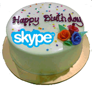 HappyBirthday.white thumb Skype's 9th Birthday: Whither Skype?