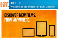 TIFF.BBMChannel.Logo thumb BlackBerry Messenger   As Viewed at TIFF