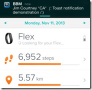 BBM.iOS .ToastNotification thumb Reprise: BBM for iOS and Android   A Positioning Exercise