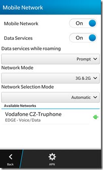 TruphoneNetworkCZ.EDGE thumb Truphone World   My Universal World Carrier Experience